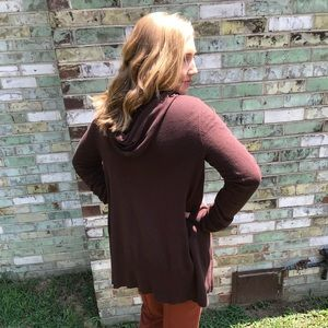 Take Out| Brown Hooded Duster
